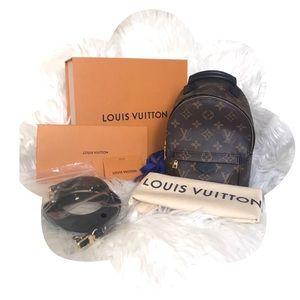 💯 Authentic Louis Vuitton Palm Springs Mini